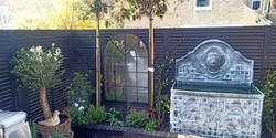mirror your garden, fish pond