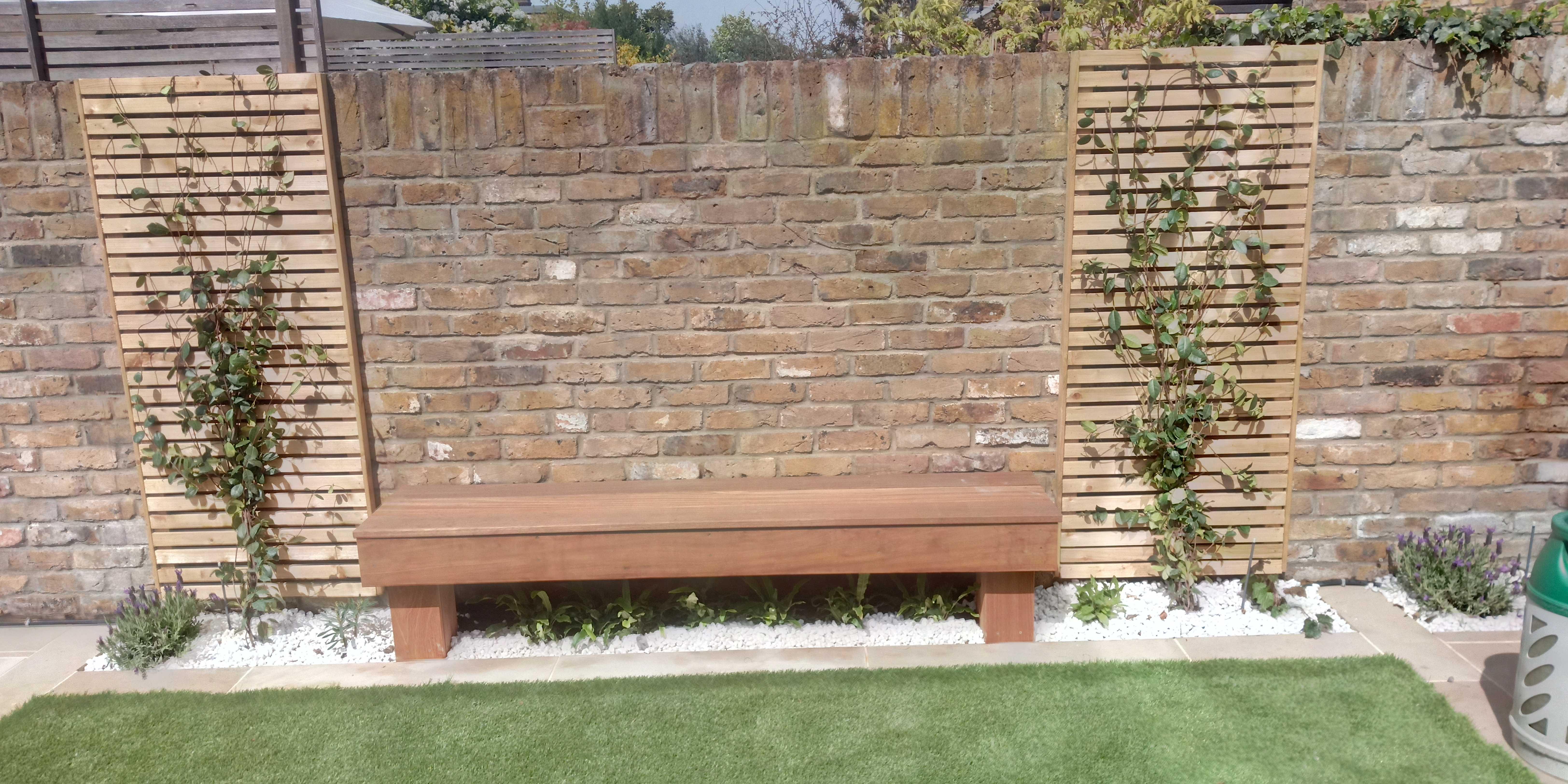 iroko bench