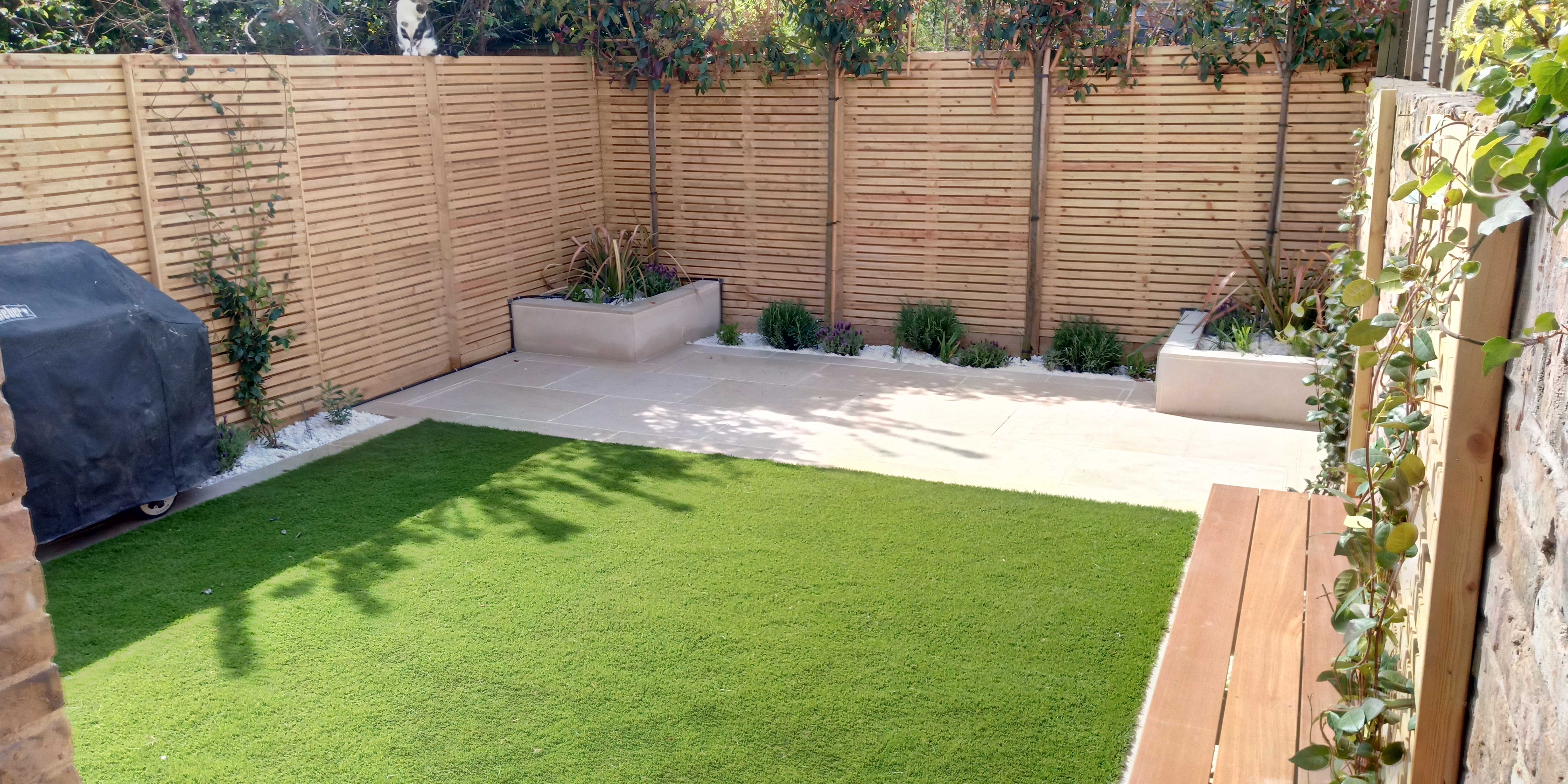 new sunny garden
