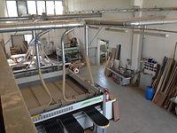 Aumento degli spazi e inserimento nuovi macchinari