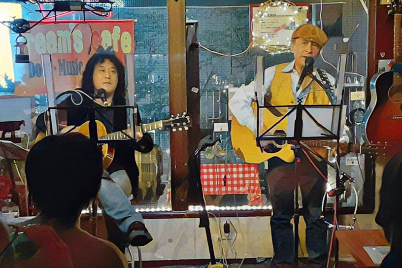 live in dream's cafe
