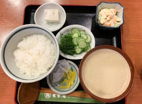 宮崎名物冷汁。 本場前に頂きました。 地元の宮崎市ではあまり食べられるところはありません。 わざわざ料理するものじゃなく、自然とそう食べちゃうものなのでしょう。 でも夏になればこれに限ります。