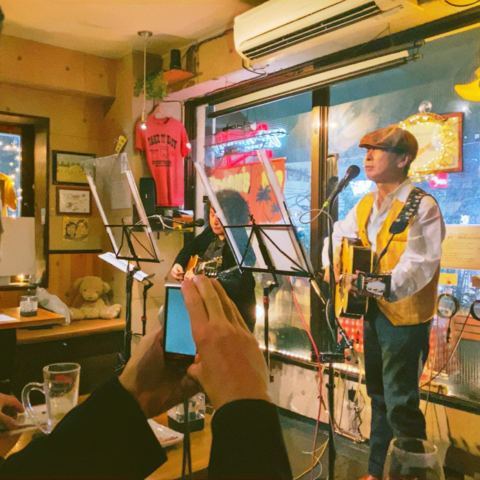 live in dream's cafe, itabashi