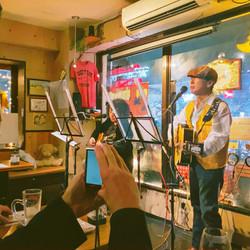 live in dream's cafe, itabashi
