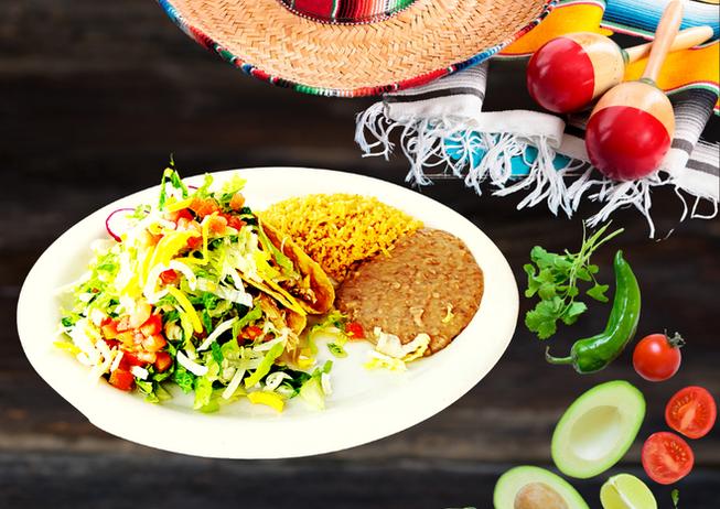 Hard Tacos Plate