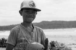 Niño en Nias - Indonesia