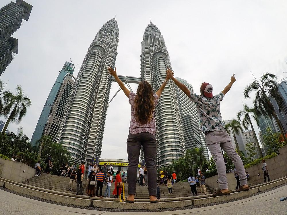Clasica postal de Kuala Lumpur - Torres Petronas