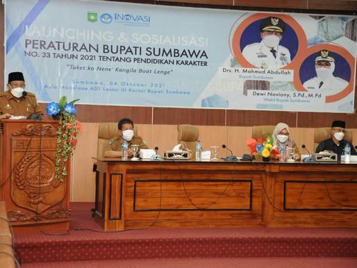 Bupati Sumbawa Launching Pendidikan Karakter