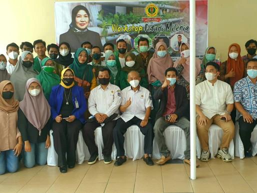 Gelar Workshop Petani Milenial, IKA UNRAM Siap Kembalikan Kejayaan Bumi Gora NTB
