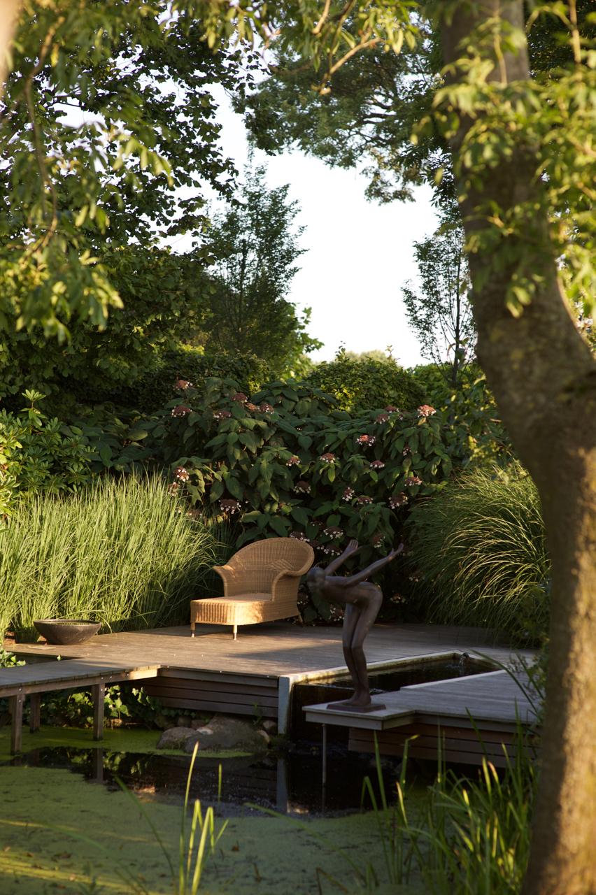 Interieur im Garten