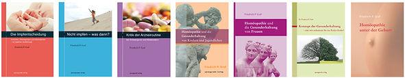 Eine Auswahl der Büchern von Dr. Friedrich P. Graf