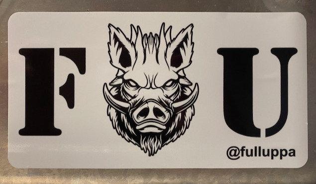 F U Sticker