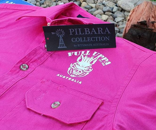 Kid's Pilbara Work Shirts
