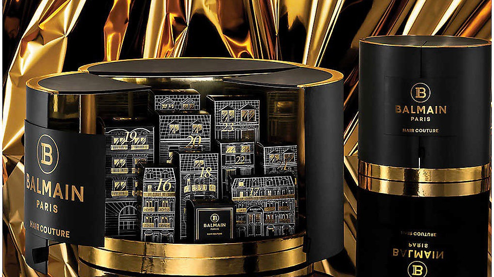 BALMAIN Limited Edition Advent Calendar 10 Days of Balmain Paris Hair Couture