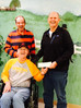 Past President Presenting Donation to Crumley House