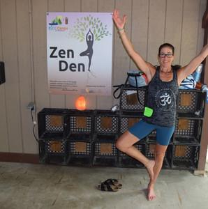 """JCF Visitors Get Centered at the """"Zen Den"""""""