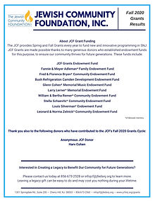 JCF Fall 2020 Grants results flyer p2.jp