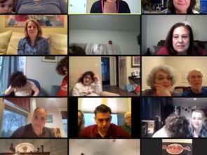 JCF Endowment Fund Supports Zoom-ed ACHaD Seder