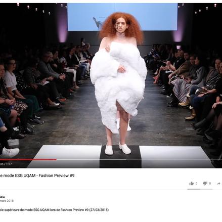 École supérieure de mode ESG UQAM - Fashion Preview #9