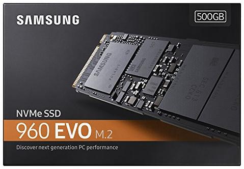 Disco SSD M.2 Samsung EVO 960 Series - 250GB a 1TB