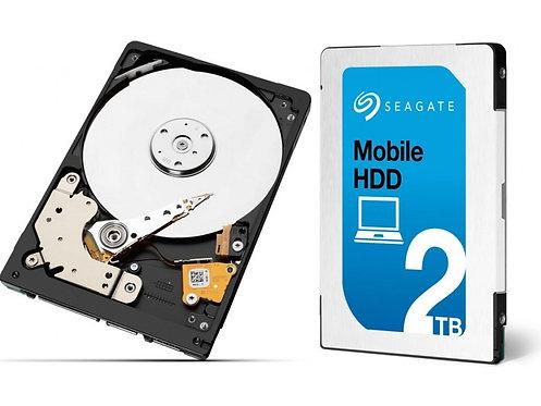 """Disco interno 2.5"""" HDD Seagate Mobile HDD 2TB"""