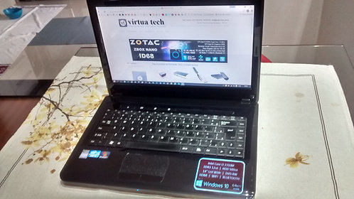 Notebook Intel i3, Positivo Sim, 7480, 8GB, 500GB, Win10/64 Pro
