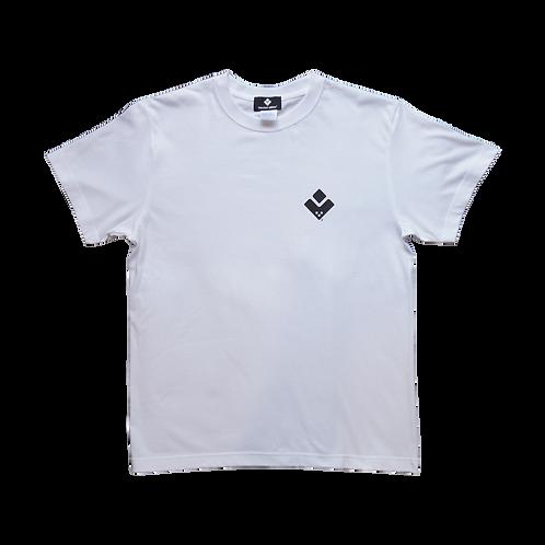 VECTOR GLIDE Logo T /white