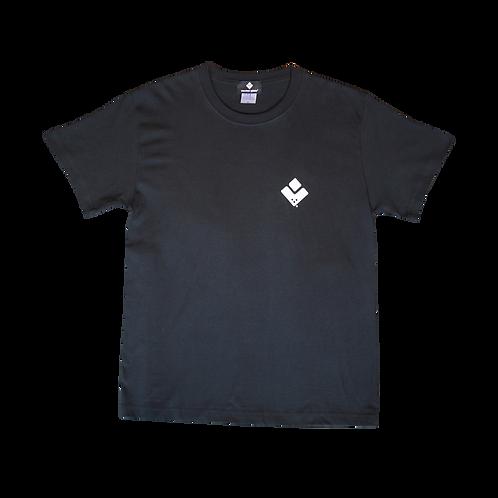 VECTOR GLIDE Logo T /black