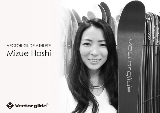 "Welcome to VECTOR GLIDE ""Mizue Hoshi"""