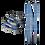 Thumbnail: hybrid kids skin startup ski touring adapter for kids set