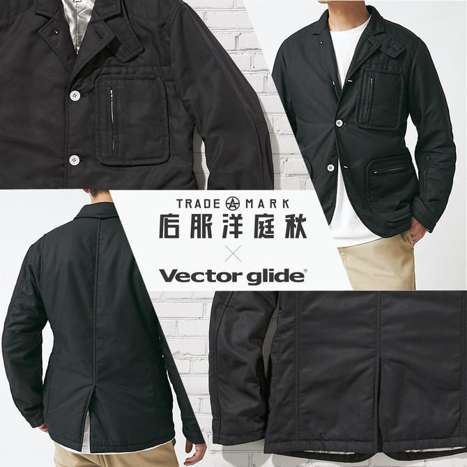 -秋庭洋服店 × VECTOR GLIDE-  H.A blazer