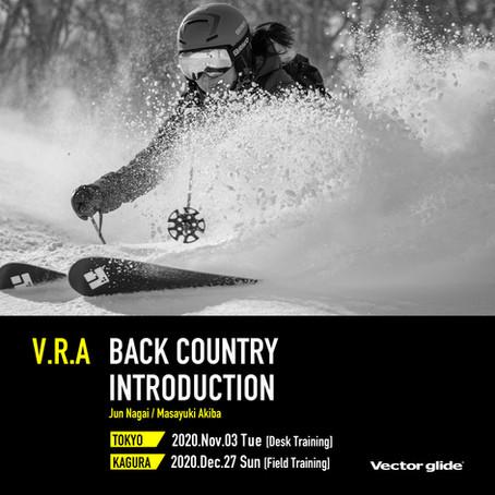 -V.R.A Backcountry Introduction-