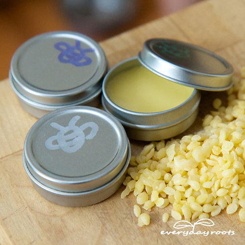 PEPPERMINTnatural lip balm tins #LB