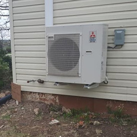 Mitsubishi Multi Zone Ductless System