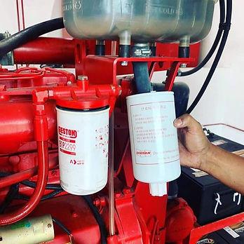 clarke pump oil filter change.jpg
