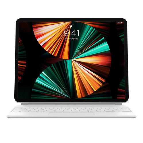 """Magic Keyboard für das 12,9"""" iPad Pro (5. Generation) - Deutsch (Schweiz) Weiss"""