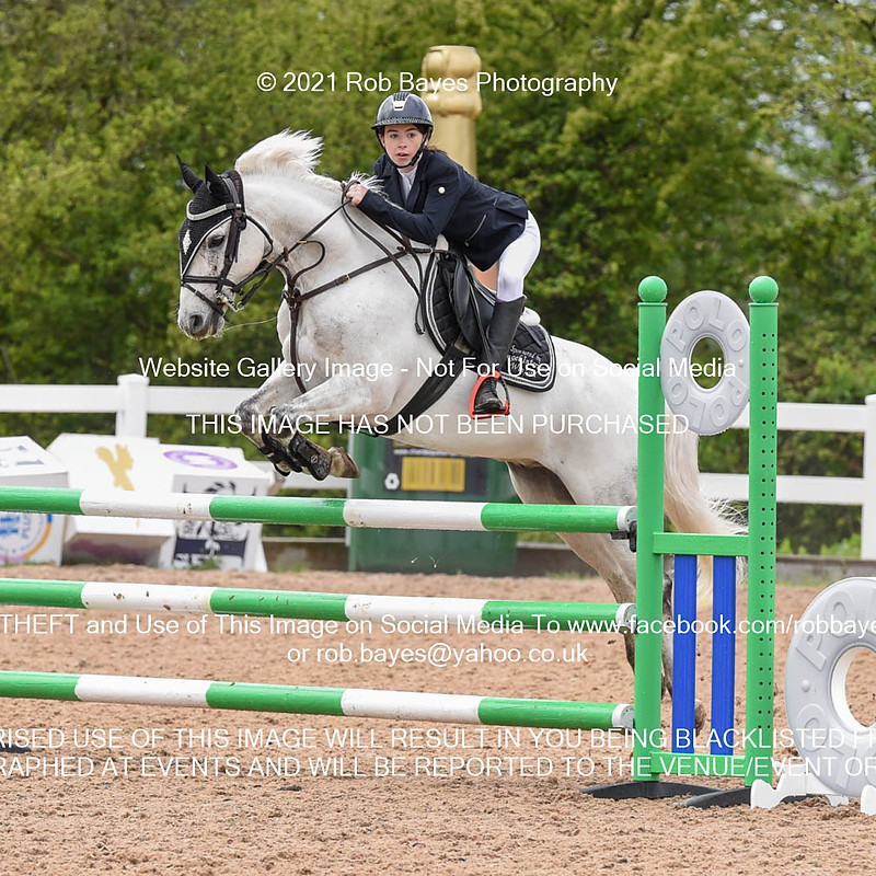 Chard Eq, Pony Foxhunter/1.10m Open