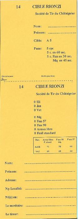 Cible Rionzi
