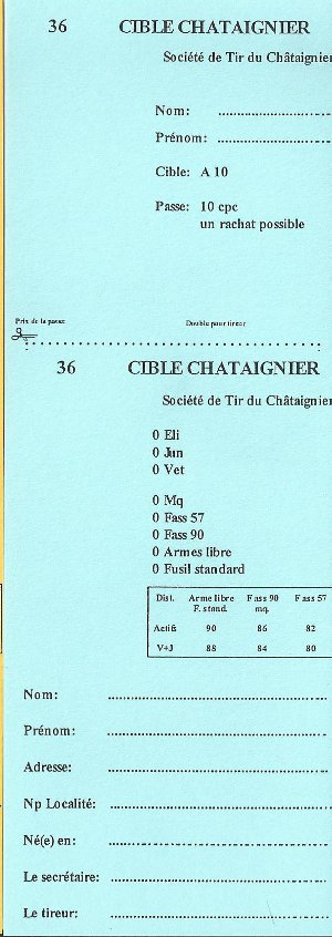 Cible Châtaignier