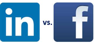 LinkedIn v Facebook