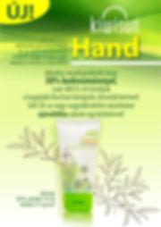 Kézkrém akciós plakát VÁGÓJEL NÉLKÜL A2.
