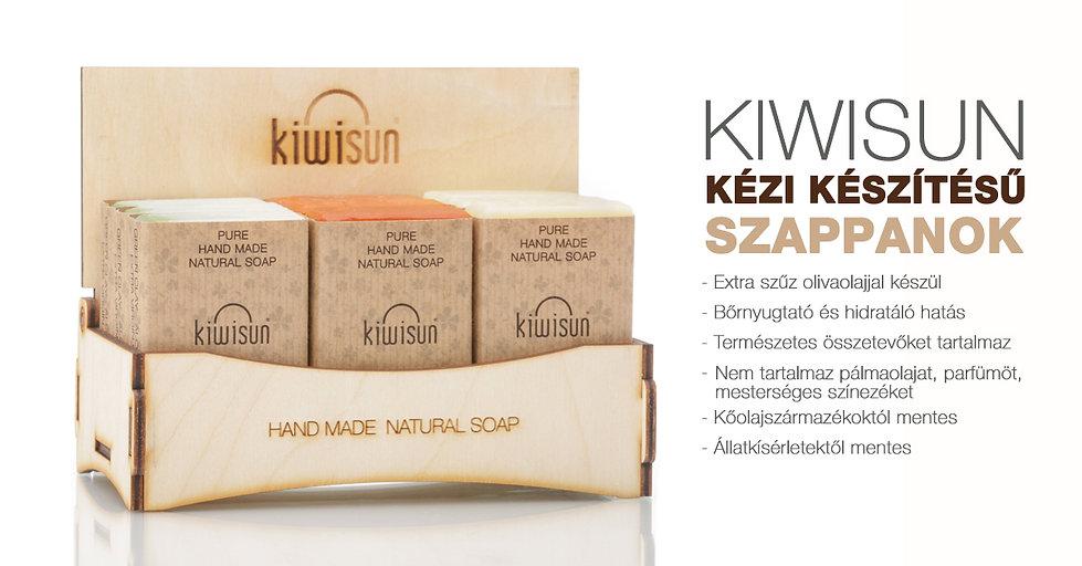 KiwiSun szappanok