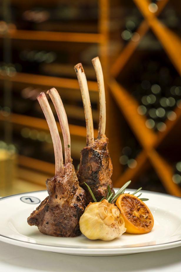 lamb chops food styling