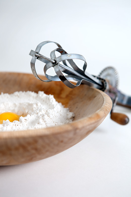 flour food styling