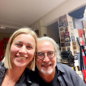 Nelly mit Luciano Moral
