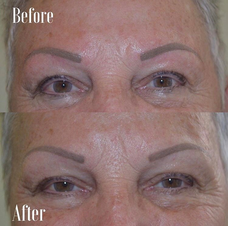 Full Powder Brow Healed