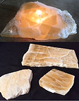Honeycomb Calcite Rock Candles