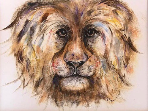 Original Acrylic Lion