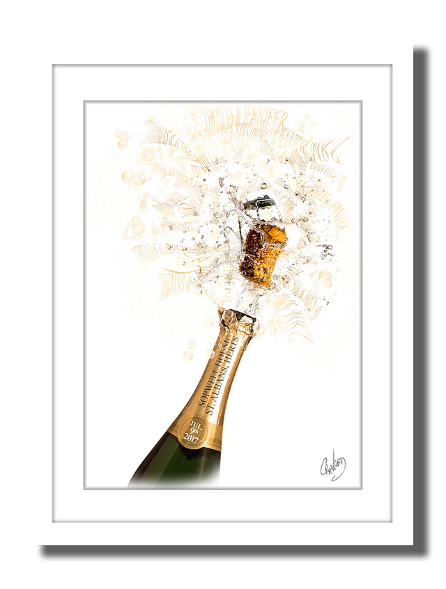 Champagne Type Art