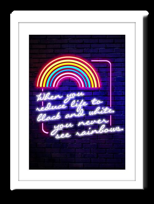 Rainbow Print – Reduce life